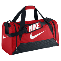 Nike Brasilia 6 Medium Duffle - Red / White