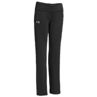 Under Armour Rally Pants - Girls' Grade School - All Black / Black