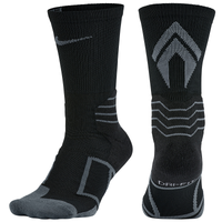 Nike Elite Vapor Baseball Crew Socks - Men's - Black / Grey
