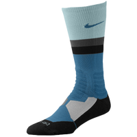Nike Hyperelite Fanatical Crew Socks - Light Blue / Light Green