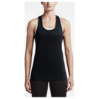 Nike Balance Tank - Women's - All Black / Black