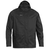 Under Armour Team Armourstorm Jacket - Men's - All Black / Black