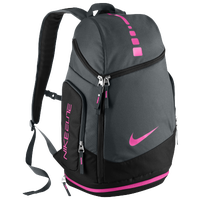 Nike Hoops Elite Max Air Team Backpack - Grey / Black