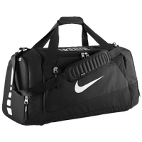 Nike Hoops Elite Max Air Duffle - Black / White