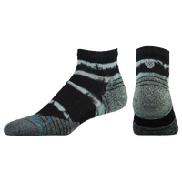 Stance Fusion Run Quarter Socks - Men's - Black / Grey