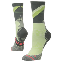 Stance Fusion Run Crew Socks - Women's - Light Green / Dark Green
