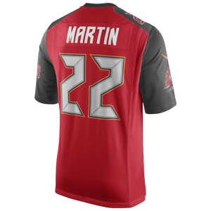 Nike NFL Game Day Jersey - Men's - Doug Martin - Tampa Bay Buccaneers - Gym Red
