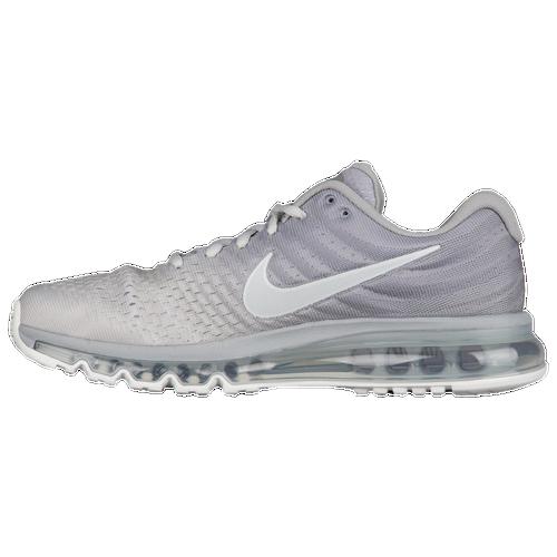Nike Air Max 2017 - Men\u0026#39;s - Silver / White