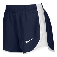 Nike Team Dry Tempo Shorts - Women's - Navy / White