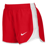 Nike Team Dry Tempo Shorts - Women's - Red / White