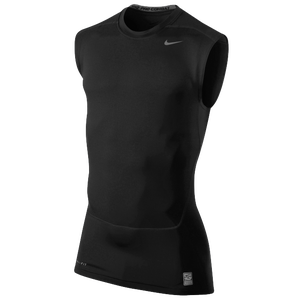 Nike Pro Combat Core Compression SLVLS Top 2.0 - Men's - Black/Cool Grey
