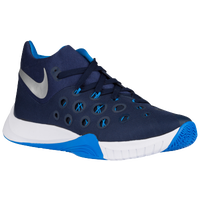 Nike Zoom Hyperquickness 2015 - Men's - Navy / Light Blue