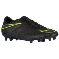 Nike Hypervenom Phinish FG - Men's - Black / Light Green
