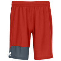 adidas Team Spirit Pack Shorts - Men's - Red / Grey