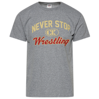 Cliff Keen I Wrestle 5.0 Performance T-Shirt - Men's - Grey / Tan