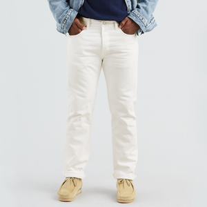 Levi's 501 Original Fit Jeans - Men's - Optic White