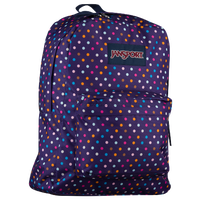 JanSport Superbreak Backpack - Purple / Multicolor