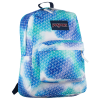 JanSport Superbreak Backpack - Blue / Light Blue