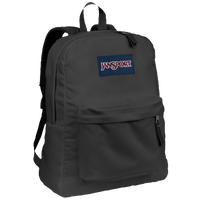 JanSport Super Break BackPack - All Black / Black