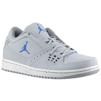 Jordan 1 Flight Low - Men's - Grey / Blue