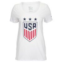Nike Country Pride T-Shirt - Women's - White / Navy