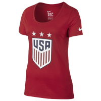 Nike Country Pride T-Shirt - Women's - USA - Red / White