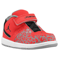 Jordan 1 Flight Mid - Boys' Toddler - Red / Black