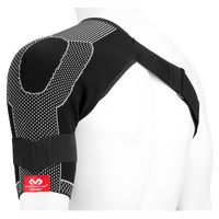 McDavid Shoulder Wrap with 4-way Elastic - Black / White