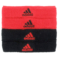 adidas Interval 3/4-inch Bicep Bands - Red / Black