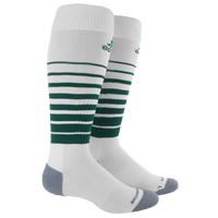 adidas Team Speed Soccer Socks - White / Dark Green