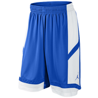 Jordan Team Prime.Fly Flight Game Shorts - Boys' Grade School - Blue / White