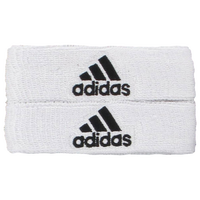 adidas Interval 1-Inch Bicep Bands - Men's - White / Black