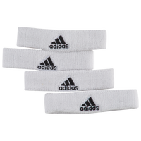 adidas Interval 3/4-inch Bicep Bands - Men's - White / Black