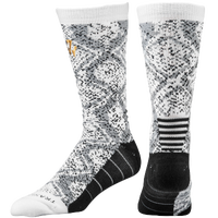 adidas J Wall Crew Socks - Men's - John Wall - White / Black
