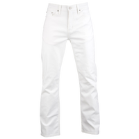Levi's 514 Slim Straight Jeans - Men's - All White / White