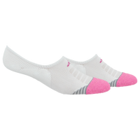 adidas Superlite Speed Mesh 2 Pack Super No Show - Women's - White / Pink