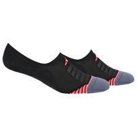 adidas Superlite Speed Mesh 2 Pack Super No Show - Women's - Black / Red