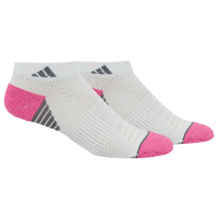 adidas Superlite Speed Mesh 2 Pack Low Cut - Women's - White / Pink