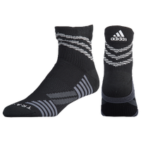 adidas Speed Mesh High Quarter - Black / Grey