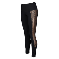 PUMA Everyday Training Graphic Tights - Women's - Black / Gold