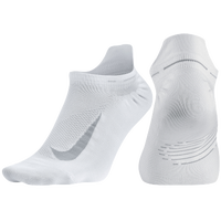 Nike Elite Run Lightweight No Show Tab - White / Grey