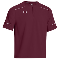 Under Armour Ultimate Cage Jacket - Men's - Maroon / White
