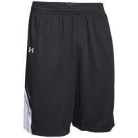 Under Armour Team Crunch Time Shorts - Men's - Black / White