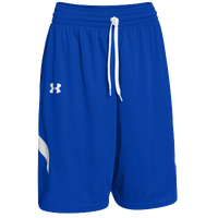 Under Armour Team Clutch Reversible Shorts - Men's - Blue / White