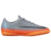 Nike MercurialX Victory XI IC - Boys' Grade School -  Cristiano Ronaldo - Grey / Orange