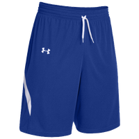 Under Armour Team Clutch Reversible Shorts - Women's - Blue / White