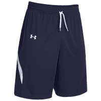 Under Armour Team Clutch Reversible Shorts - Women's - Navy / White