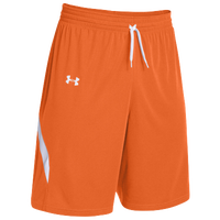 Under Armour Team Clutch Reversible Shorts - Women's - Orange / White