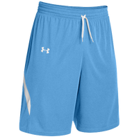 Under Armour Youth Team Clutch Reversible Shorts - Boys' Grade School - Light Blue / White