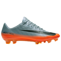 Nike Mercurial Vapor XI FG-Pro - Men's -  Cristiano Ronaldo - Grey / Orange